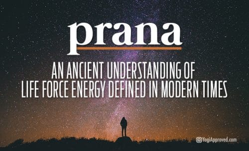 What is prana ancient life force