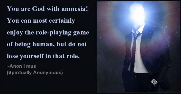 New Age Myth - god in amnesia