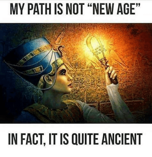New Age myth ancient path is not new age