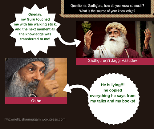New Age Guru - Sadhguru copies Osho