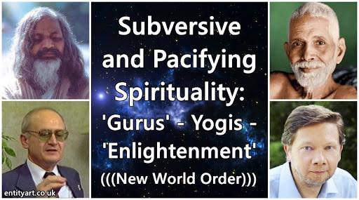 new age gurus eckhart passive spirituality