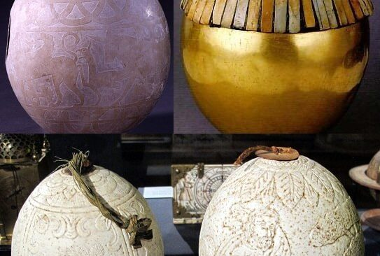 Ancient Ostrich Eggs