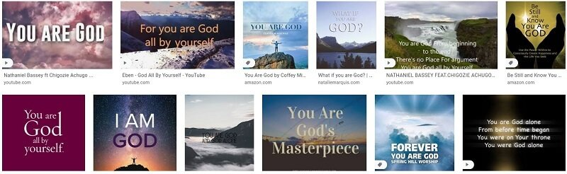 You are god myth you are god google image