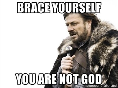 you are god myth - you are not god