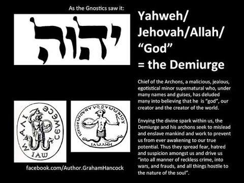 You Are God Myth The Demiurge