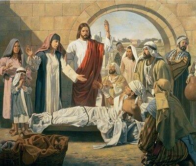 Jesus and dionysus Jesus Raises Lazarus