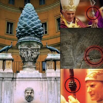 third eye chakra symbolism pine cone