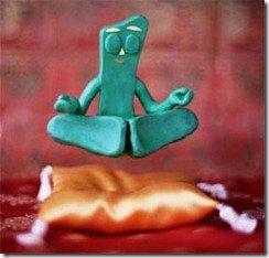 meditation gumby