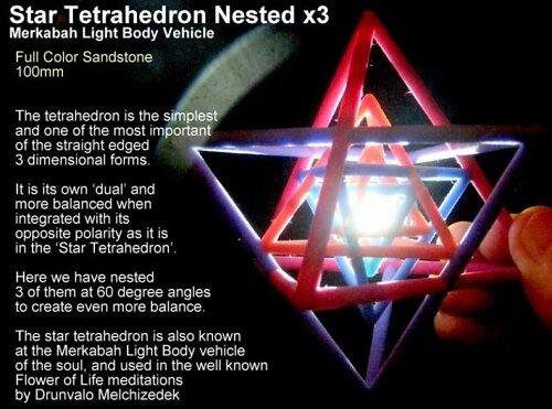 sacred geometry symbols Star Tetrahedron