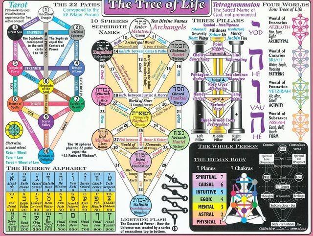 sacred geometry symbols tree of life