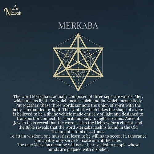 sacred geometry symbols Merkaba