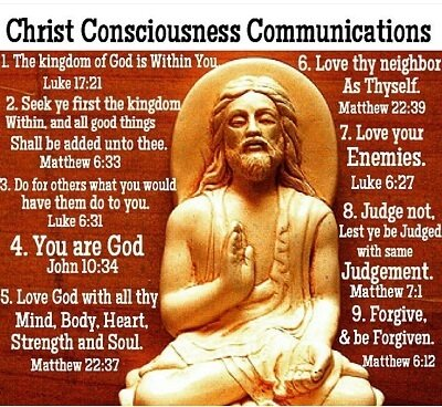 who is god christ consciousness