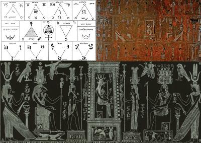 Origins of tarot Bembine Tablet Of Isis