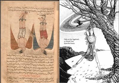 Origins of tarot Harut and Marut Odin