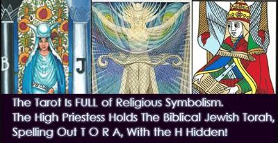 Origins of tarot High Priestess Torah