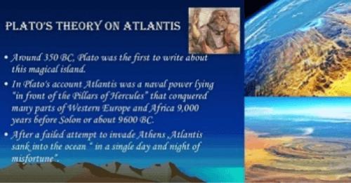 Richat Structure Atlantis