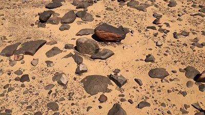 Richat Structure Atlantis rock stones