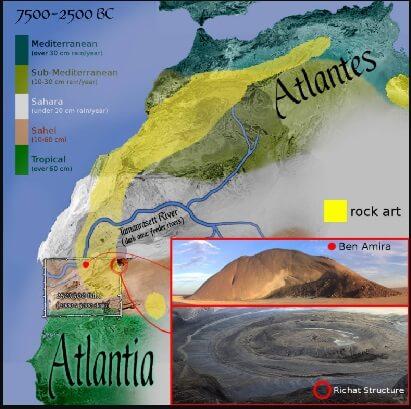 Richat Structure Atlantis atlas mountains
