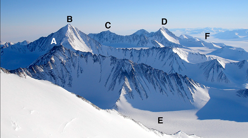 Are There Pyramids In Antarctica Ellsworth Mountain