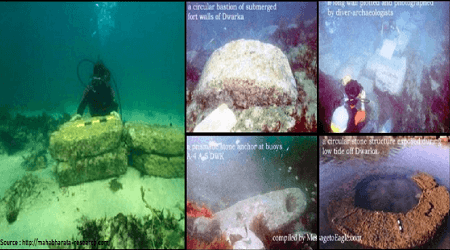 myths that turned out to be true Dvārakā under water archeology
