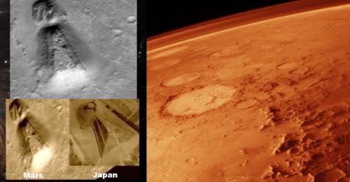 Keyhole On Mars: An Unexplainable Geoglyphic Geometric Symmetrical Anomaly 54