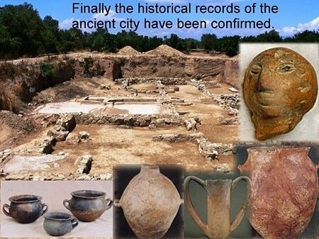 Myths that turned out to be true helike artifacts pottery