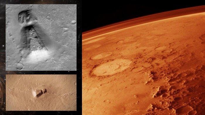 Keyhole On mars structure