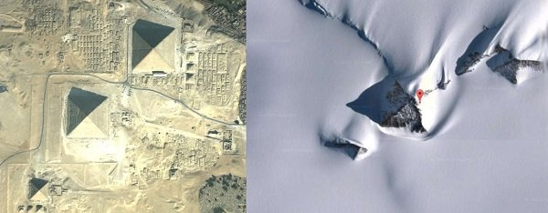 Are There Pyramids In Antarctica Pyramids Of South Antarctica