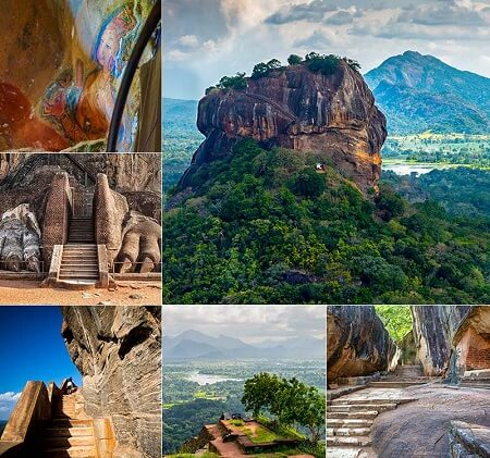 myths that turned out to be true Sigiriya ancient city mountain