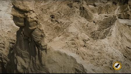 Balochistan Sphinx back side