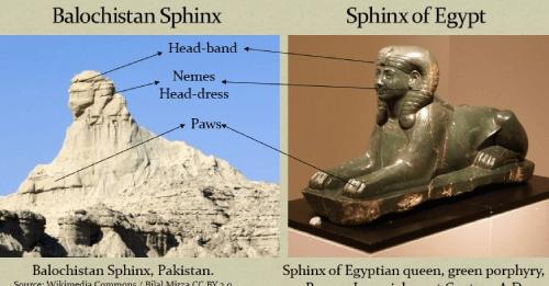 Ancient Balochistan Sphinx Of Pakistan 52