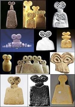 Wide Eyed Relics eye idols