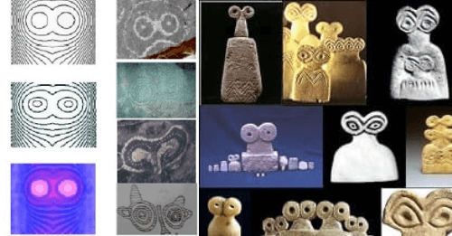 Mystery Of The Strange Eye Idols Discovered All Over The World In Ancient Times 14