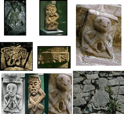 Wide Eyed Relics Irish Celtic